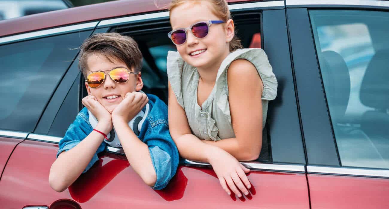 نصائح للحفاظ على أطفالك مطلقا في تأجير السيارات